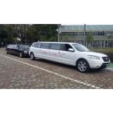 Aniversário em limousine melhor preço na Vila Ester