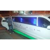 Aniversário em limousine melhor preço na Vila Olinda
