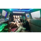 Aniversário em limousine melhor preço no Jardim Esther