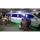 Aniversário em limousine melhor preço no Lar Nacional