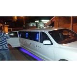 Aniversário em limousine menor preço na Chácara São João