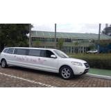 Aniversário em limousine menor preço na Vila Sirene