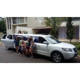 Aniversário em limousine menor preço no Jardim da Casa Pintada