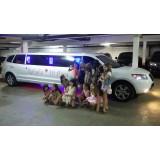Aniversário em limousine na Vila da Paz