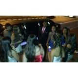 Aniversário em limousine na Vila Franci