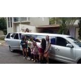Aniversário em limousine preço acessível no Jardim Ricardo