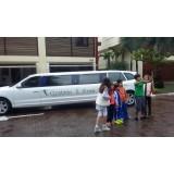 Aniversário em limousine preço na Vila Buenos Aires
