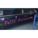 Aniversário em limousine preço na Vila Gonçalves