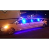 Aniversário em limousine preço na Vila Lageado