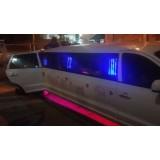 Aniversário em limousine quanto custa na Vila Aparecida