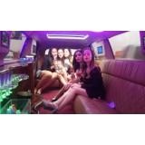Aniversário em limousine quanto custa na Vila Aurea