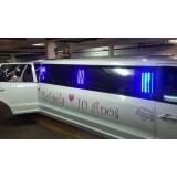 Aniversário em limousine valor em Estiva Gerbi