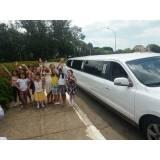 aniversário infantil na limousine no Jardim Vale Verde