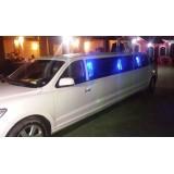 Comprar limousine de luxo na Vila Ponte Rasa
