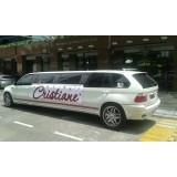 Comprar limousine de luxo preço na Vila Fernando