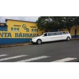 Comprar limousine de luxo valor acessível na Vila União