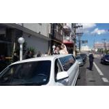 Empresa de limousine para festa de casamento em São João do Pau-d'Alho