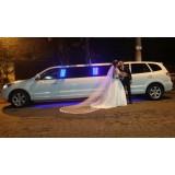 Empresa de limousine para festa de casamento na Vila Barreira Grande