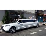 Empresa de limousine para festa de casamento onde contratar em Trabiju
