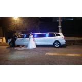 Empresa de limousine para festa de casamento onde localizar na Vila Cleonice