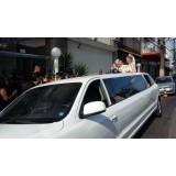 Empresa de limousine para festa de casamento onde localizar no Estância Tangara