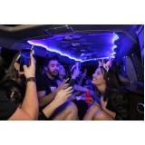 empresa de locação de limousine para festa infantil Vila Reis