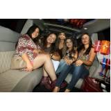 empresa de locação de limousine para festa Rosana
