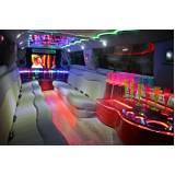 empresa de locação de limousine para festa Vila Carolina