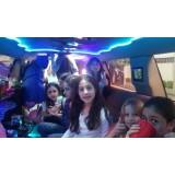 Festa de aniversário em limousine melhor preço na Vila Dornas