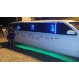 Festa de aniversário em limousine melhor preço no Jardim Santo André