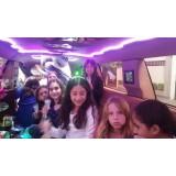 Festa de aniversário em limousine onde encontrar no Jardim Monte Belo