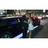 Festa de aniversário em limousine onde localizar no Guacuri