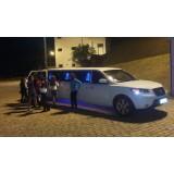 Festa de aniversário em limousine onde localizar no Jardim Vista Linda