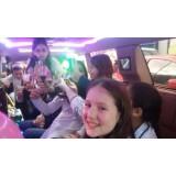 Festa de aniversário em limousine preço acessível no Jardim São Joaquim