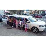 Festa de aniversário em limousine valor acessível na Vila Monte Santo