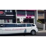 Festa de aniversário em limousine valor no Parque Boturussu