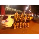 festa de aniversário na limousine preço na Cidade Dutra