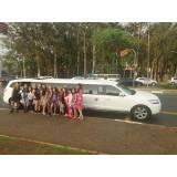 festa de aniversário na limousine quanto custa no Jardim Rosana