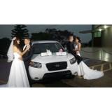 Limousine Branca para Casamento