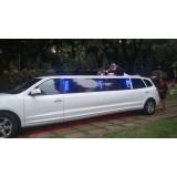 Limousine de luxo menor preço na Vila Júlio