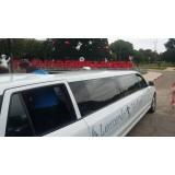 Limousine de luxo onde localizar na Vila União
