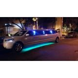 Limousine locação com motorista melhor preço na Vila Solange