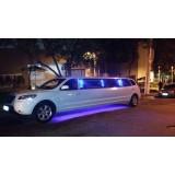 Limousine locação com motorista onde localizar na Vila Andes