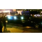 Limousine locação com motorista preço em São Vicente