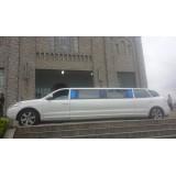 Limousine locação com motorista valor em Guaiçara