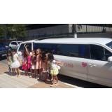 Limousine para aniversário infantil melhor preço no Jardim São Gonçalo