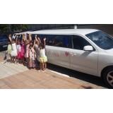 Limousine para aniversário infantil menor preço na Vila Barbosa