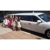 Limousine para aniversário infantil menor preço na Vila Mirim