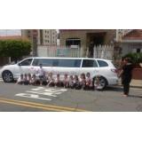 Limousine para aniversário infantil onde localizar no Parque Santo Antônio