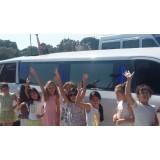 Limousine para aniversário infantil preço acessível no Jardim Rosana